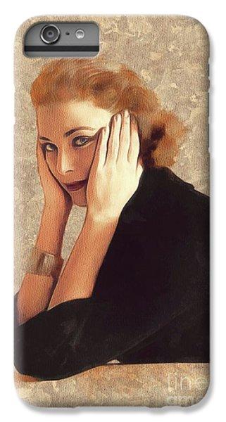Grace Kelly iPhone 7 Plus Case - Grace Kelly, Hollywood Legend by Mary Bassett
