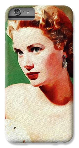 Grace Kelly iPhone 7 Plus Case - Grace Kelly, Movie Star by John Springfield