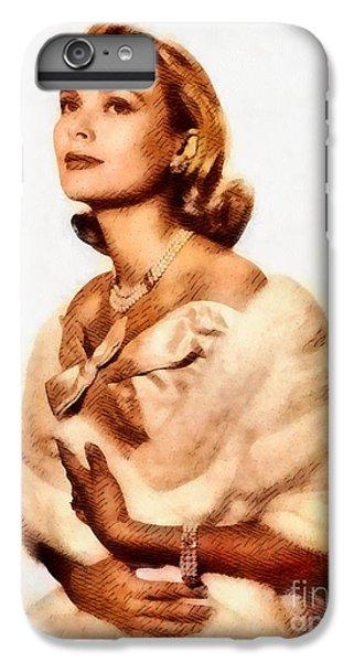 Grace Kelly iPhone 7 Plus Case - Grace Kelly, Vintage Actress By John Springfield by John Springfield