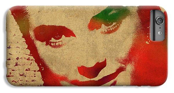 Grace Kelly iPhone 7 Plus Case - Grace Kelly Watercolor Portrait by Design Turnpike