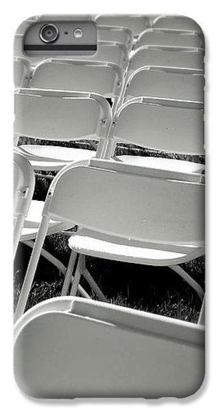 Graduation Day- Black And White Photography By Linda Woods IPhone 7 Plus Case by Linda Woods