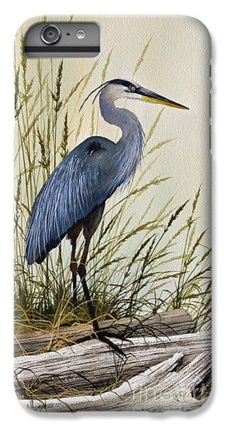 Heron iPhone 7 Plus Case - Great Blue Heron Splendor by James Williamson