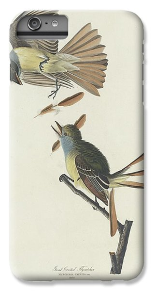 Flycatcher iPhone 7 Plus Case - Great Crested Flycatcher by Dreyer Wildlife Print Collections