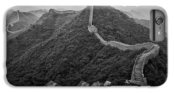 IPhone 7 Plus Case featuring the photograph Great Wall 2, Jinshanling, 2016 by Hitendra SINKAR