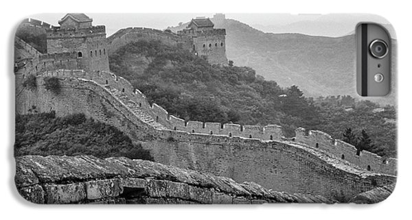 IPhone 7 Plus Case featuring the photograph Great Wall 7, Jinshanling, 2016 by Hitendra SINKAR