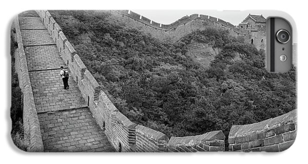 IPhone 7 Plus Case featuring the photograph Great Wall 9, Jinshanling, 2016 by Hitendra SINKAR