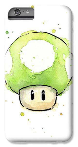 Green 1up Mushroom IPhone 7 Plus Case
