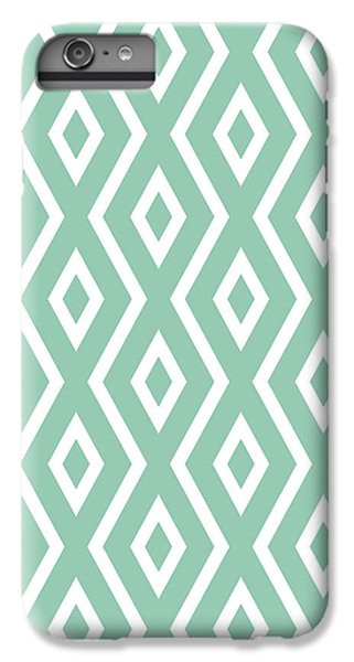 Repeat iPhone 7 Plus Case - Green Pattern by Christina Rollo