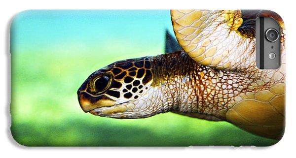 Turtle iPhone 7 Plus Case - Green Sea Turtle by Marilyn Hunt