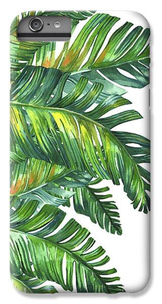 Contemporary iPhone 7 Plus Case - Green Tropic  by Mark Ashkenazi