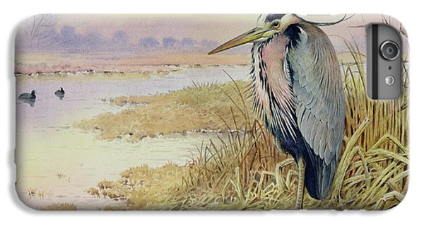 Grey Heron IPhone 7 Plus Case by John James Audubon