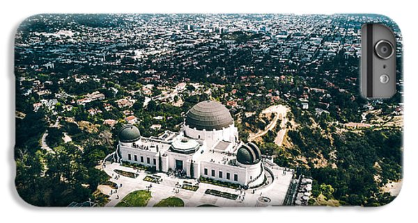 Griffith Observatory And Dtla IPhone 7 Plus Case by Andrew Mason