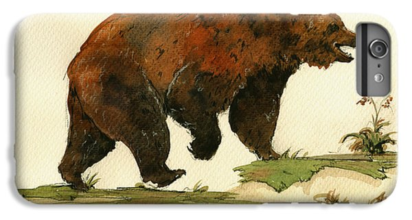 Grizzly Bear Art IPhone 7 Plus Case