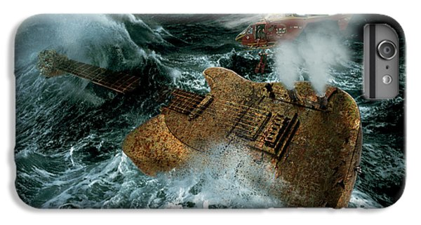 Helicopter iPhone 7 Plus Case - Guitarwreck by Marian Voicu