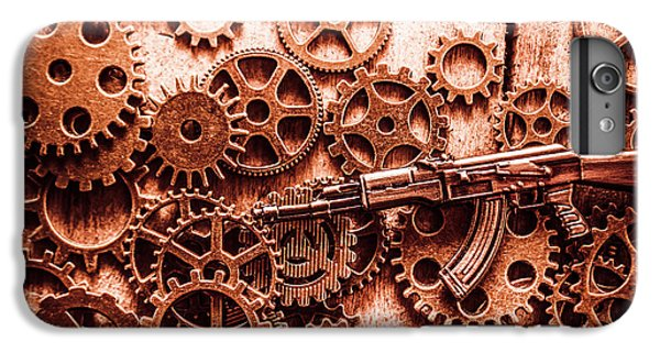 Warfare iPhone 7 Plus Case - Guns Of Machine Mechanics by Jorgo Photography - Wall Art Gallery