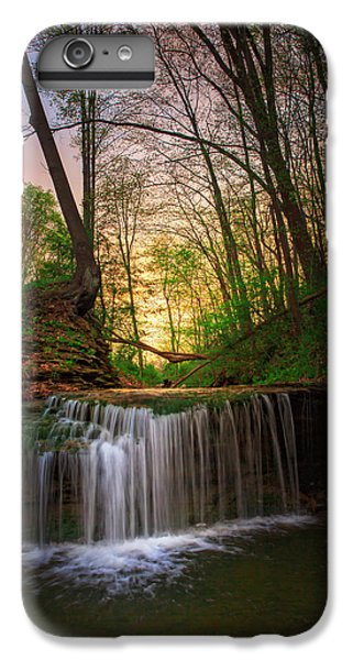 Beaver iPhone 7 Plus Case - Gypsy Glen  Rd Waterfall  by Emmanuel Panagiotakis