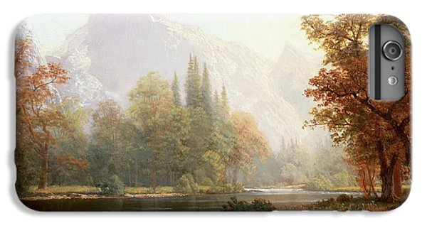 Mountain iPhone 7 Plus Case - Half Dome Yosemite by Albert Bierstadt