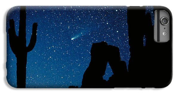 Desert iPhone 7 Plus Case - Halley's Comet by Frank Zullo