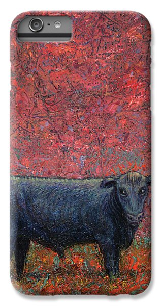 Bull iPhone 7 Plus Case - Hamburger Sky by James W Johnson