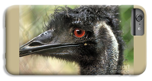 Emu iPhone 7 Plus Case - Handsome by Kaye Menner