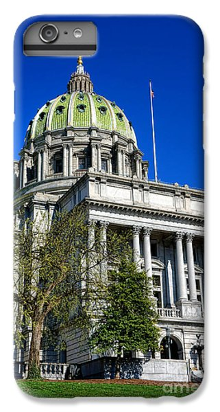 Capitol Building iPhone 7 Plus Case - Harrisburg Capitol Building by Olivier Le Queinec