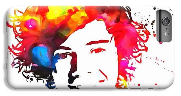 Harry Styles Paint Splatter IPhone 7 Plus Case by Dan Sproul