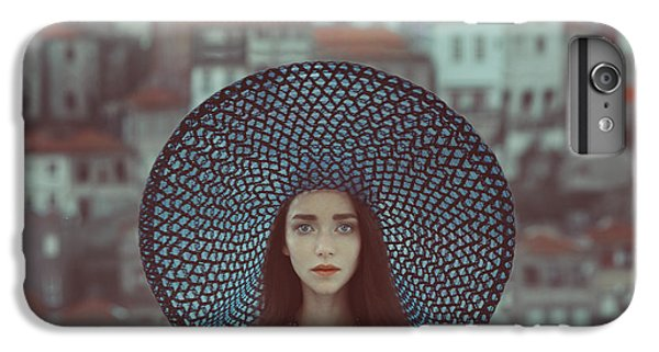 Portraits iPhone 7 Plus Case - Hat And Houses by Anka Zhuravleva