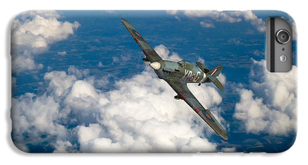 IPhone 7 Plus Case featuring the photograph Hawker Hurricane IIb Of 174 Squadron by Gary Eason