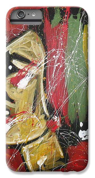 Hockey iPhone 7 Plus Case - Hawks by Elliott From