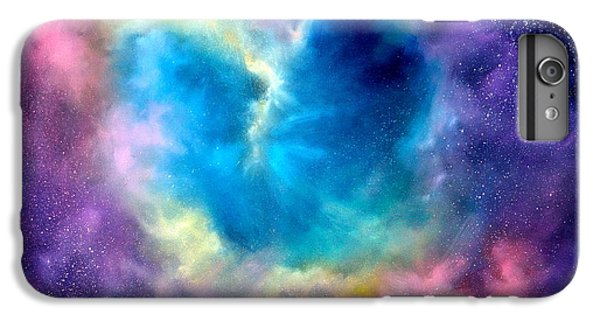Heart Of The Universe IPhone 7 Plus Case by Sally Seago