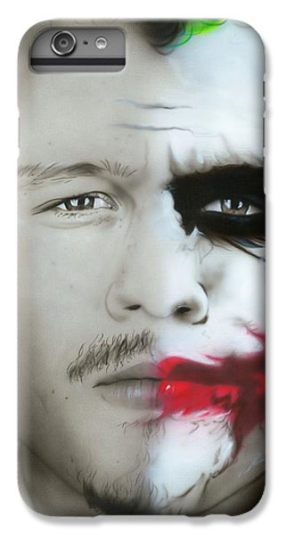 Heath Ledger iPhone 7 Plus Case - Heath Ledger / Joker by Christian Chapman Art
