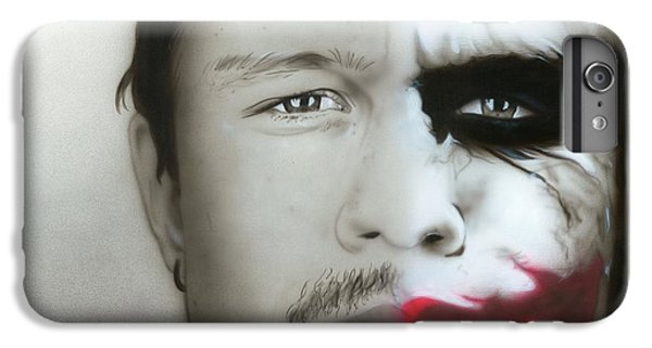 ' Heath Ledger / Joker ' IPhone 7 Plus Case by Christian Chapman Art