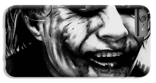 Heath Ledger iPhone 7 Plus Case - Heath Ledger Joker by Rick Fortson
