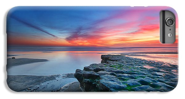 Sunset iPhone 7 Plus Case - Heaven And Earth by Larry Marshall