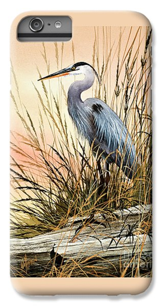 Heron Sunset IPhone 7 Plus Case by James Williamson