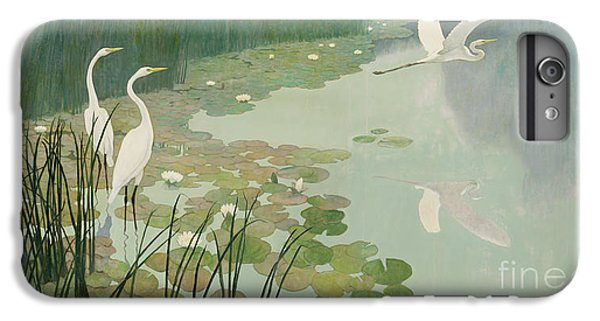 Herons In Summer IPhone 7 Plus Case by Newell Convers Wyeth