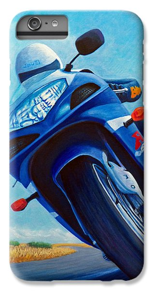 High Desert Pass - Suzuki Gsxr1000 IPhone 7 Plus Case by Brian  Commerford