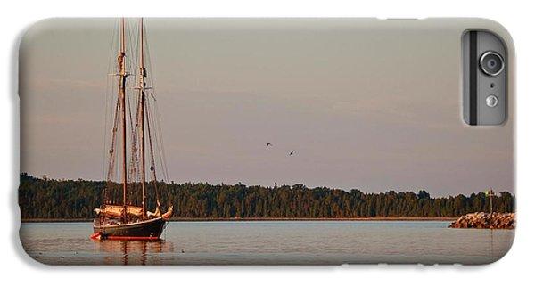 Shrimp Boats iPhone 7 Plus Case - Highland Sea by Michael Thomas