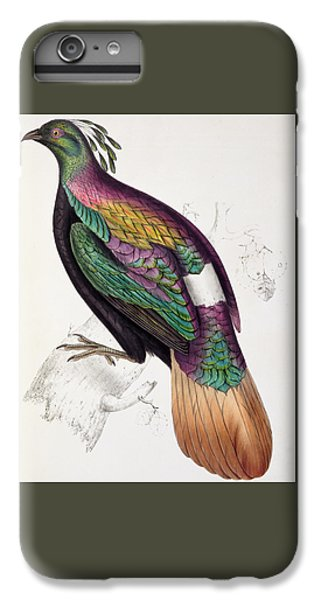 Himalayan Monal Pheasant IPhone 7 Plus Case by John Gould