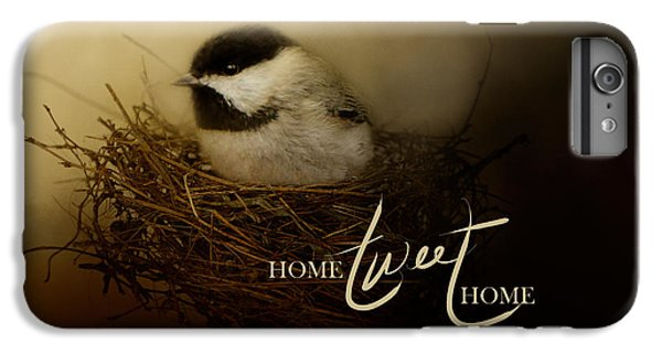 Home Tweet Home With Words IPhone 7 Plus Case by Jai Johnson
