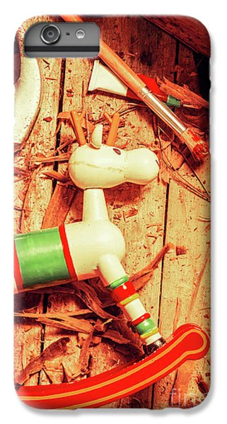 Craft iPhone 7 Plus Case - Homemade Christmas Toy by Jorgo Photography - Wall Art Gallery