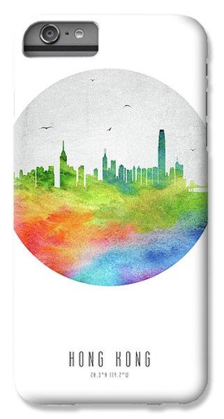 Hong Kong iPhone 7 Plus Case - Hong Kong Skyline Chhk20 by Aged Pixel