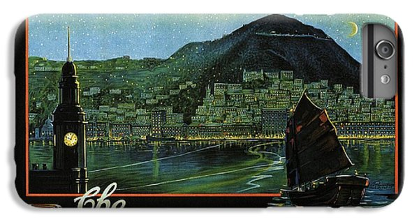 Hong Kong iPhone 7 Plus Case - Hong Kong - The Riviera Of The Orient - Vintage Travel Poster by Studio Grafiikka