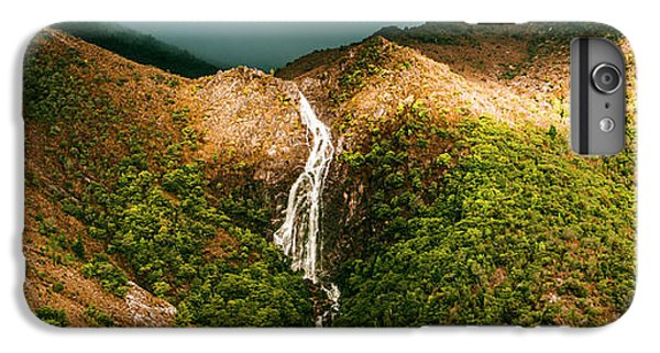 Horsetail Falls In Queenstown Tasmania IPhone 7 Plus Case by Jorgo Photography - Wall Art Gallery