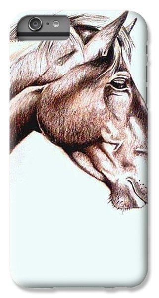 iPhone 7 Plus Case - Horsing Around  by Janine Bouwer