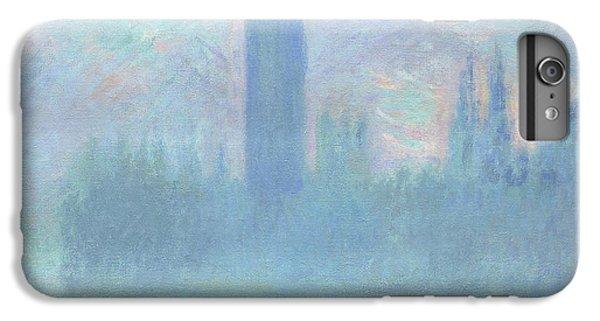 Houses Of Parliament  London IPhone 7 Plus Case by Claude Monet