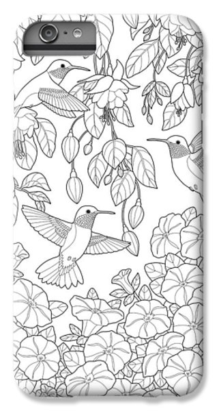Adult Coloring Pages IPhone 7 Plus Case