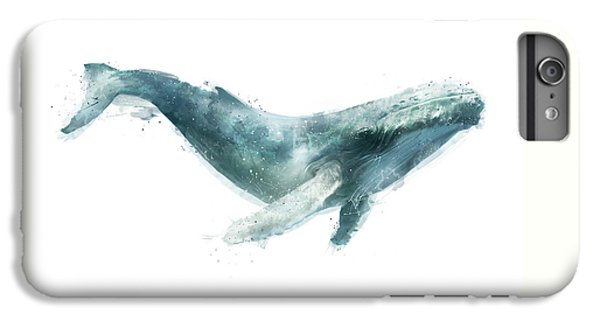 Whale iPhone 7 Plus Case - Humpback Whale From Whales Chart by Amy Hamilton
