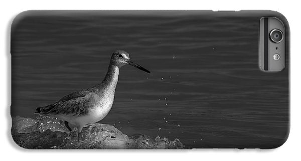 Sandpiper iPhone 7 Plus Case - I Can Make It - Bw by Marvin Spates