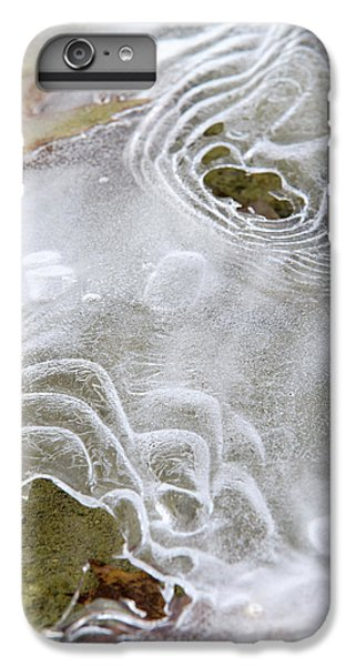 IPhone 7 Plus Case featuring the photograph Ice Abstract by Christina Rollo